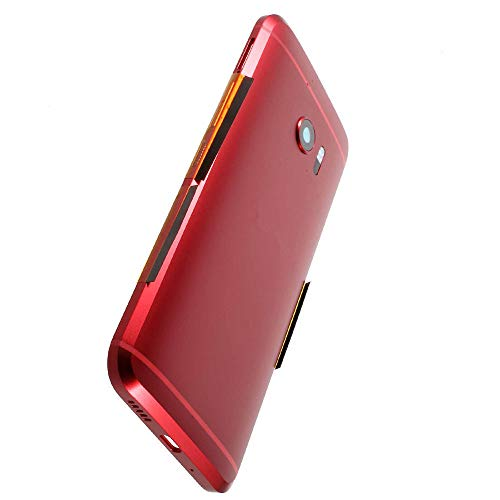 BCPP Battery Back Rear Cover Door Housing Frame Red Replacement for HTC 10 (Htc Battery Door)