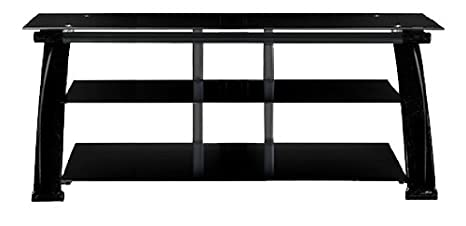 Amazon Com Innovex 265 Nexus Tv Stand Black Kitchen Dining