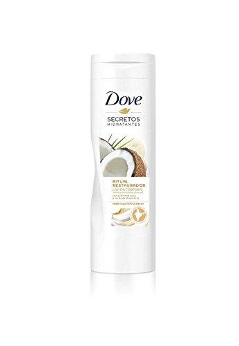 Dove Aceite de Coco y Leche de Almendras Loción 400 ml - [Pack de 2