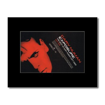 Gary Numan - Exposure Mini Poster