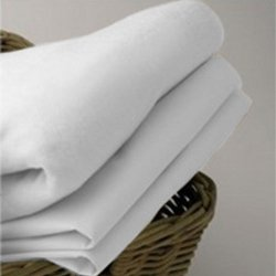 Organic Cradle Sheet - Color: White Size: 18 x 36