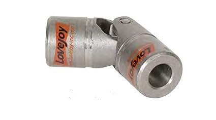 "D12 Type Universal Joint Bored Steel 1/""X1/"" N//KW N//SS Love Joy 68514416753"