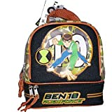 Ben 10 Alien Force Dual Compartment Lunch Kit - Black/Orange/Camo