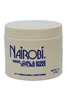 Nairobi Wave Curl and Shine Styling Waxx, 4 Ounce ()