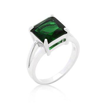 J Goodin Precious Fahion Emerald Gypsy Ring Size 10 from JGOODIN