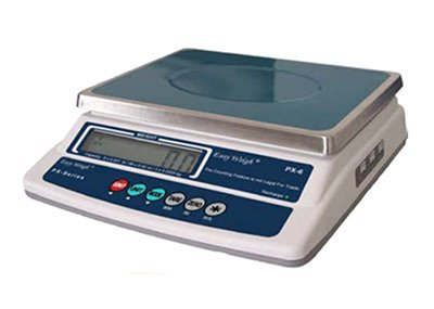 60-lb Portion Control Scale w/ LCD Display, Stainless Platform by Skyfood