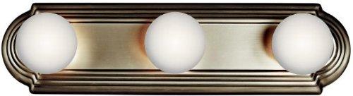 Kichler 5003NI Linear Bath 18-Inch, Brushed Nickel ()