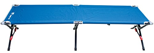 RIO Gear Portable Smart Cot Military Style Folding Camping Cot by RIO Gear