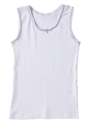 Sportoli Girls Ultra Soft 100% Cotton White Tagless Tank Top Undershirts - Size 6/7 by Sportoli (Image #6)