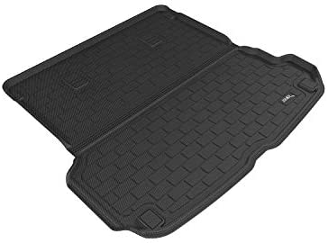 Gray 3D MAXpider Custom Fit All-Weather Cargo Liner for Select Audi Q7 Models Kagu Rubber