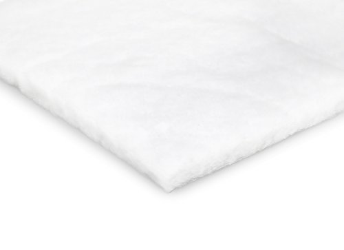 Durable Polyester Quilt Batting – Fluffy and Warm – Thick and Lightweight - 60 inches Wide - Machine Washable - For Indoor and Outdoor Use - Large Variety of Yard Cut Sizes (12 (Tuscany 12 Light)