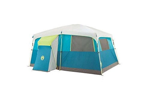 Coleman Tenaya Lake 8 Person Fast Pitch Cabin Tent w/ Closet, Blue by Coleman