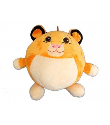 Peluche Redonda Bola Simba el rey León Disney Nicotoy Simba Toys H 30 cm 587/