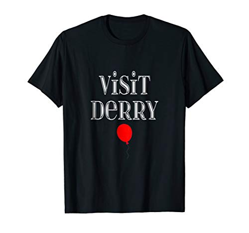 Visit Derry Halloween Costum October 31 Scary T-shirt for $<!--$17.99-->