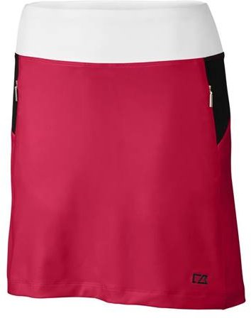 - Cutter & Buck Women's Drytec Stretch UPF 50+ Pull-on Print Skort with Pockets, Flourish, Large