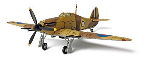 Forces of Valor U.K. Hurricane - Egypt, 1940 (1:72) (New Paint and Package) (Forces Of Valor Toys)