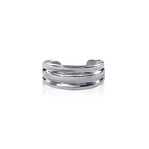Gem Avenue 925 Sterling Silver 6mm Toe Ring for (Gem Avenue Toe Ring)