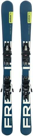 Elan Freeline 99cm Skiboards Snowblades with Ski Release Bindings 2018
