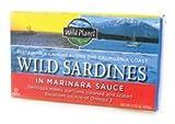 Wild Planet Wild Sardines in Marinara Sauce -- 4.375 oz