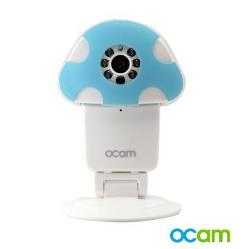 OCam-M1 Wi-Fi Wireless Baby Monitor Security Video Camera & Nanny Cam DVR iPhone iPad iOS Android(Blue/Pink/Green)