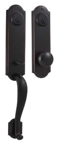 Weslock 06651-1-002D Mansion Exterior Entry Handle, Oil-Rubbed Bronze