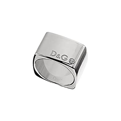 868c97f0b1af Dolce   Gabbana Men stainless steel FINERING  Amazon.co.uk  Jewellery