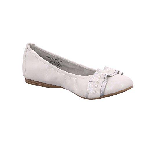 599 Pearl Rose Black 1 Ladies 22126 Tamaris Ballerina 20 UPOnqw