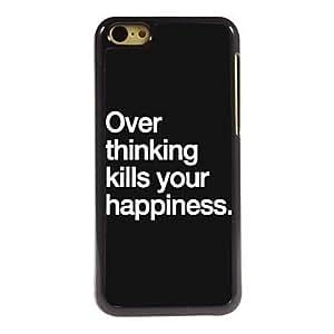 SHOUJIKE Over thinking Design Aluminum Case for iPhone 5C , HK