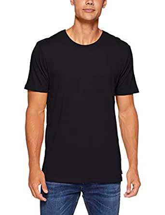 Bonds Men's Essentials Crew Tee, Black, X-Small