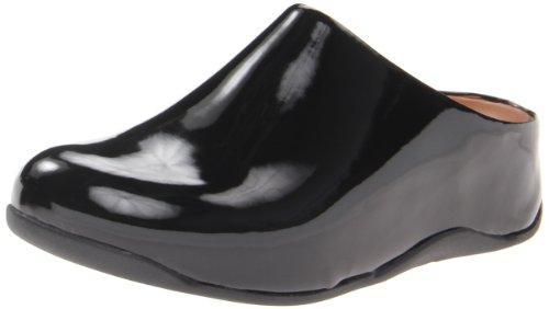 FitFlop Women's Shuv Patent, Black, 10 M (B) ()