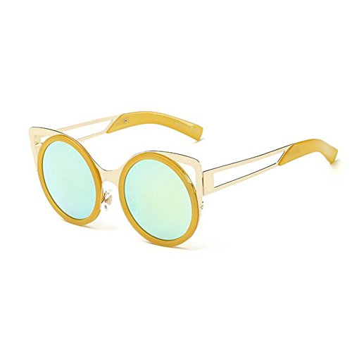 Beat Personalidad Cara 3 Playa Arena Grande Gafas xin Gafas De Moda Street Sol Circular Redonda Caja 2 Color WX Viaje De ExR7wzpq6n