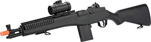 Double Eagle M14 Socom RIS Carbine Spring Airsoft Gun (Black) (Spring Airsoft M14 Gun)
