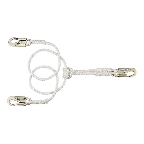 Pelican Rope 3-Strand 1/2'' X 10' 2-in-1 Adjustable Rope Lanyard