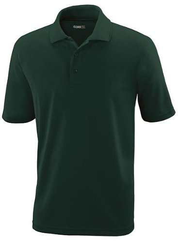 Core 365 Mens Origin  Performance Piqu  Polo  88181   Forest Gren  M