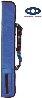 Stecca da biliardo della Soft, parte inferiore per 1/2senza colore blu reale parte inferiore per 1/2senza colore blu reale Winsport
