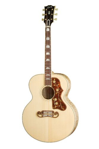 Gibson J-200 Standard Acoustic-Electric Guitar, Antique (Acoustic Guitar Gibson)