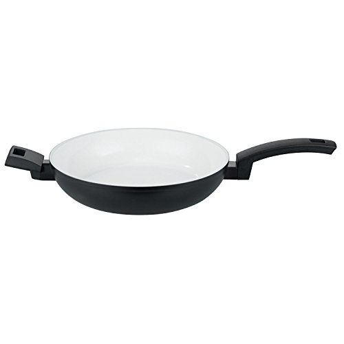 """Elo Cookware 81624 Blanc Noir Fry Pan, 9.5"""", Aluminum"""
