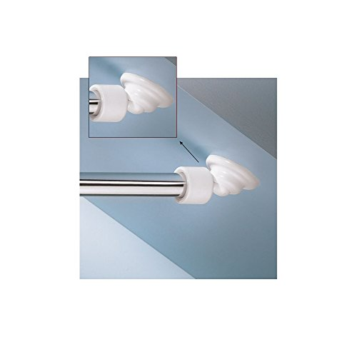 Angled Shower Rod Mount For Sloped Walls - Low Cost Solution (Rod Closet Angled Bracket)