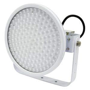 日動工業 LED投光器 ハイディスク150W 高効率タイプ HID400W相当 昼白色 電源装置一体型 スポットタイプ 電線ポッキンプラグ5m付 クリア L150V2-D-HS-50K