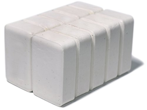 Set of 10 DermaHarmony 2% Pyrithione Zinc (ZnP) Bar Soap 4 oz - Crafted for Those with Skin Conditions - Seborrheic Dermatitis, Dandruff, (Soap Set Of Two)
