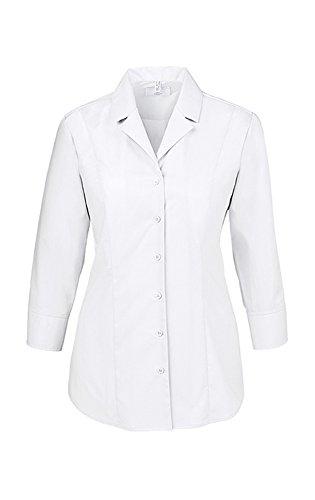3 Manica Bianco Cascata Donna Collo 4 Greiff A Camicia xXq4wvW7