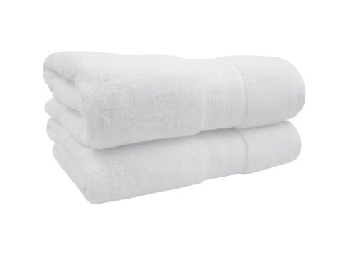 Organic Cotton Bath Towel (100% Organic Cotton Luxury Bath Towel- Made Here by 1888 Mills (2pk))