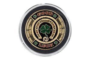Good Luck Poker Card Guard Protector