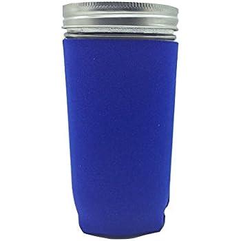 Jar-Z Pint and Half Canning Jar, 24 oz, Blue