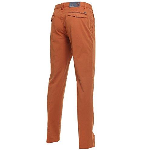 Zanellato Pantaloni Uomo 11343129439802 Cotone Arancione