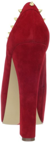 Luichiny Womens Mighty Miss Stivaletto Rosso