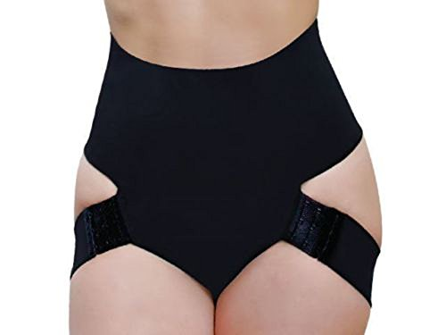 Butt Lifter Panty Booty Enhancer Tummy Control Body Shaper - S - Black (One Piece Butt Lifter compare prices)
