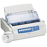 OKIDATA * Microline 490 24-Pin Dot Matrix Printer, Sold as 1 Each