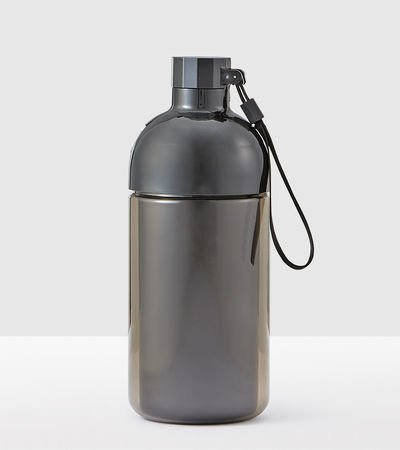 Starbucks Two-Piece Black Water Bottle, 31 fl oz 2 Piece Bottle