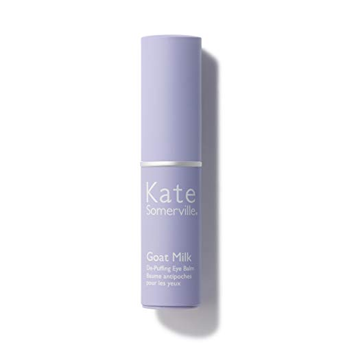 Kate Somerville Goat Milk De-Puffing Eye Balm (0.3 Oz.) Reduce the Appearance of Dark Circles, Under Eye Bags and Crow's Feet While Smoothing Skin